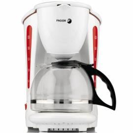 Datasheet Kaffeemaschine FAGOR CG-120 weiß/rot