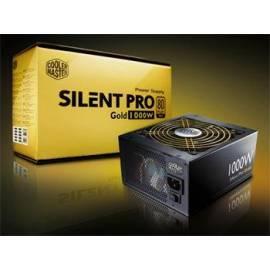 Zdroj COOLER MASTER Silent Pro Gold aktiv 1000W (RSA00-80GAD3-EU) - Anleitung