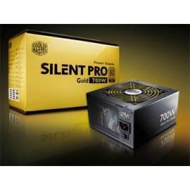 Bedienungsanleitung für Zdroj COOLER MASTER Silent Pro Gold aktiv 700W (RS700-80GAD3-EU)