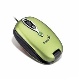 Handbuch für Maus GENIUS MaxFire 380, Internet-Telefon-Maus / kabelgebunden / 1200 dpi / USB (31011339100) grün