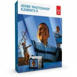 Benutzerhandbuch für Software ADOBE Photoshop Elements 9.0 WIN CZ (65086984)