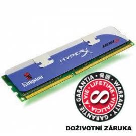 Benutzerhandbuch für KINGSTON 1 GB Speicher-Module für DDR3 - 1600MHz (KHX1600C9AD3/1 g)