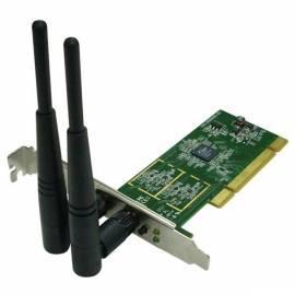 Netzwerk-Teile und WiFi EDIMAX Wireless 802. 11n PCI-Karte, 300MBit, 2T2R, RP-SMA, 3dBi, WPS-Taste (EW - 7722 In) Bedienungsanleitung