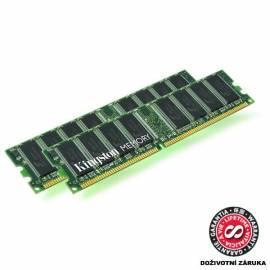Bedienungsanleitung für Speichermodul KINGSTON 1 GB 1333MHz Modul für DELL OptiPlex, Vostro (KTD-XPS730B/1 g)