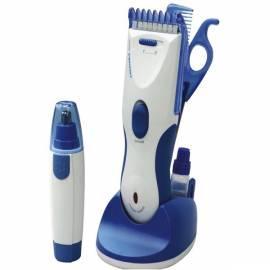 Haarschneider ETA 0677 90000 silber/blau Bedienungsanleitung