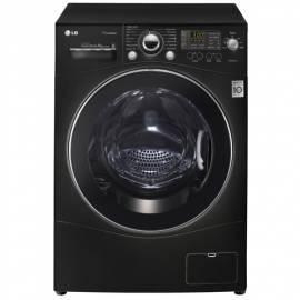 Handbuch für Waschmaschine LG F1480TDS6 schwarz