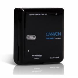 Datasheet Kartenleser CANYON CNR-CARD7