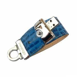 Datasheet USB-flash-Disk PRESTIGIO Leather 8GB USB 2.0 + AVG/1 Jahr blau (PLDF16CRBLA)