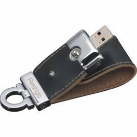 Bedienungsanleitung für USB-flash-Disk PRESTIGIO Leather 8GB USB 2.0 + AVG/1 Jahr schwarz (PLDF08PLBKT3A)