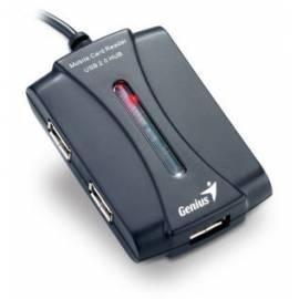 Datasheet Lesegerät Memory Karet GENIUS CR-903U, 9-in-1 Kartenleser + 3-Port-Hub (31500002102)