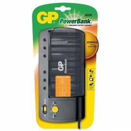 Ladegerät GP PowerBank PB S320 schwarz Bedienungsanleitung