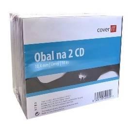 Bedienungshandbuch Es war eine COVERVERSION von einer CD, Jewelbox Dvouobal + Fach, 10 Stück (COVERIT2)-die Ware mit einem Abschlag (201476040)
