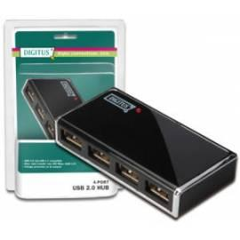 Handbuch für DIGITUS USB Hub USB 2.0 4-Port Hub + Power supply (DA-70225)