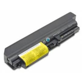 Bedienungshandbuch Baterie pro notebooky LENOVO Thinkpad T61/R61 Serie (14'' W) 6 Zellen Enhanced (41U3198)