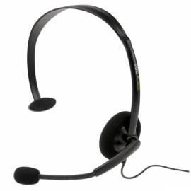 Headset MICROSOFT Xbox XBOX 360 (P5F-00002) Bedienungsanleitung