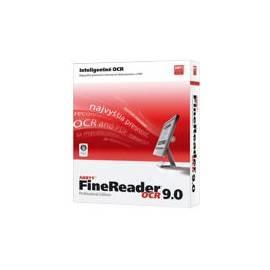 Benutzerhandbuch für Software ABBYY FineReader 9.0 Professional Edition CZ - BOX (AF80-1S1B01-9)