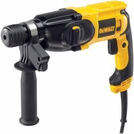 Bohrhammer DEWALT D25013K schwarz/gelb Bedienungsanleitung