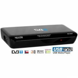 Service Manual DVB-T receiver MASCOM MC550T USBPVR black