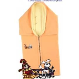 Benutzerhandbuch für Auto KAARSGAREN eine doppelte Fleece mit eine kleine Hexe gelb/orange