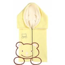 Datasheet Auto KAARSGAREN eine doppelte Fleece mit einem Teddybär, eine gelb/Creme