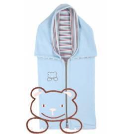 Auto KAARSGAREN fleece Baumwolle mit blue Teddybär - Anleitung