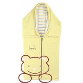 Auto KAARSGAREN fleece Baumwolle mit einem gelben Teddy-Bären