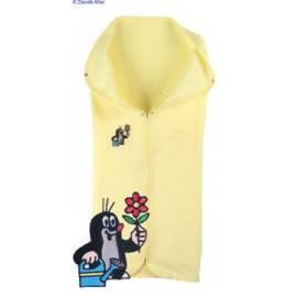 Auto-KAARSGAREN-Fleece mit wenig gelb
