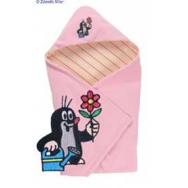 KAARSGAREN isolierte Decke mit kleinen rosa
