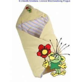 Decke KAARSGAREN isoliert mit Rakosnickem gelb Gebrauchsanweisung