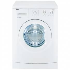 Bedienungshandbuch Waschmaschine BEKO WMB 71021 weiß