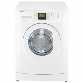 Handbuch für Waschmaschine BEKO WMB 51241 PT weiss