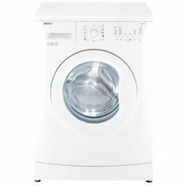 Benutzerhandbuch für Waschmaschine BEKO WMB 50821 weiß