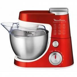 Benutzerhandbuch für Küchenmaschine MOULINEX Zephyr QA400Y0 rot