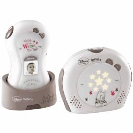 Bedienungsanleitung für Babyphone TEFAL TD5000K0 Disney weiß/braun