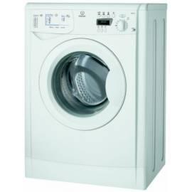 Bedienungshandbuch Waschvollautomat INDESIT WISE 127 X + Geschenk (Küchenmaschine UM 404)