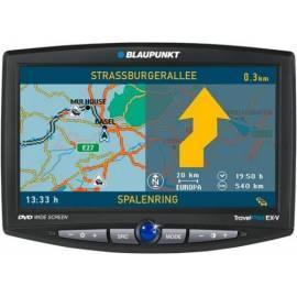 Bedienungsanleitung für Navigation Blaupunkt TravelPilot DX-V EX schwarz DVD Europakarte