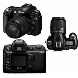 Handbuch für Kamera SLR-Kamera Nikon D50 mit AF-S DX 18-55 und 55-200 AF-S DX schwarz