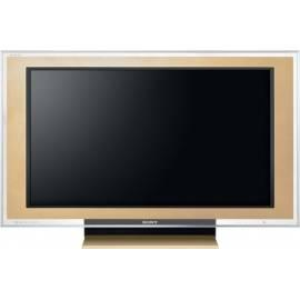 Service Manual Rahmen für eine TV Sony CRU46X1NJ, 46 X 3000, gold