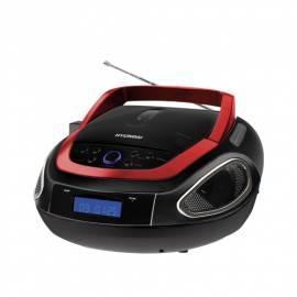 Boombox mit CD HYUNDAI TRC 512 AU3R schwarz/rot Gebrauchsanweisung