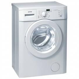 Service Manual Waschmaschine GORENJE WS 401091 weiß