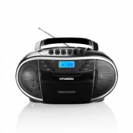 Bedienungshandbuch Radiomagnetofon s CD HYUNDAI TRC 551 A3