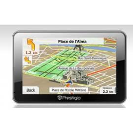 PRESTIGIO GeoVision 4500 | GPS, 4,3 '' LCD navigieren, iGO Primo, füllen Sie das Menü. Europa Bedienungsanleitung
