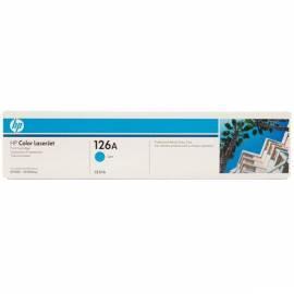 Handbuch für Toner HP CE311A blau
