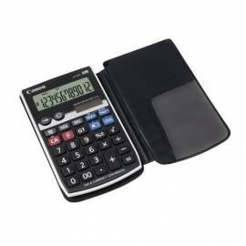 Taschenrechner CANON LS-12TC (1556B001AA) schwarz/silber Gebrauchsanweisung