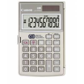 Taschenrechner CANON LS-10TEG (4422B001AA)-grau Bedienungsanleitung