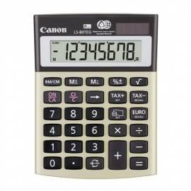 Taschenrechner CANON LS-80 TEG (4423B001AA) grau