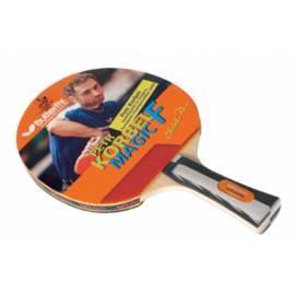 Tischtennisschläger BUTTERFLY Korbel Magic Gebrauchsanweisung