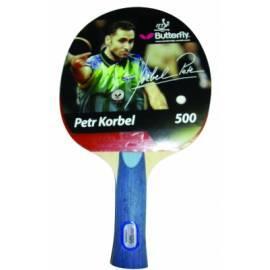 Bedienungshandbuch Tischtennisschläger BUTTERFLY Petr Korbel 500