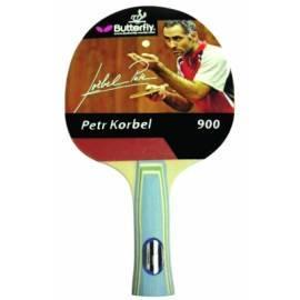 Tischtennisschläger BUTTERFLY Petr Korbel 900