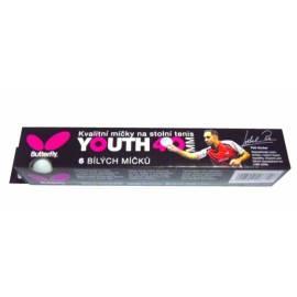 BUTTERFLY Tischtennis-Bälle, Jugend, Schulung weiß Gebrauchsanweisung